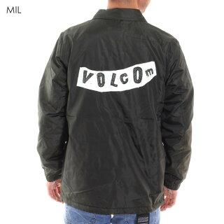 VOLCOMボルコムコーチジャケットメンズPISTOLBOACOACHJACKETA16318JA2018秋冬ブラック/オリーブ/レッドS/M/L/XL
