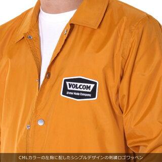 VOLCOMボルコムジャケットメンズBREWSCOACHJACKETA15318012019春夏ブラック/マスタードS/M/L