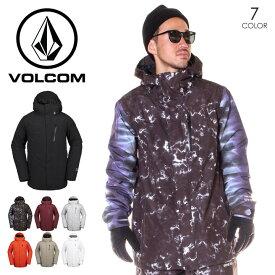 VOLCOM ボルコム スノーウェア ジャケット メンズ L GORE-TEX JACKET 2019-2020年秋冬 ブラック/バーガンディー/グレー/オレンジ/カーキ/ホワイト S/M/L/XL 【evi】