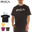 【 SUMMER SALE 】 RVCA ルーカ Tシャツ メンズ BIG RVCA TEE 2020春夏 ブラック/イエロー/グリーン/パープル/ホワイト S/M/L 【evi】