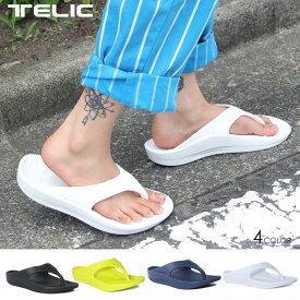TELIC テリック サンダル ユニセックス FLIP FLOP 2020春夏 ブラック/ホワイト 23cm/28.0cm 【evi】