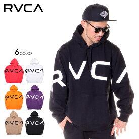 RVCA ルーカ パーカー メンズ FAKE RVCA HOODIE 2019秋冬 ブラック/ホワイト/レッド/ベージュ/オレンジ/パープル S/M/L/XL 【evi】
