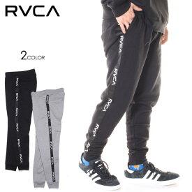RVCA ルーカ スウェットパンツ メンズ LINE RVCA SWEAT 2019秋冬 ブラック/グレー XS/S/M/L/XL 【evi】