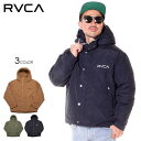RVCA ルーカ ジャケット メンズ RVCA PUFFA JACKET 2019秋冬 ブラック/ブラウン/グリーン S/M/L/XL 【evi】