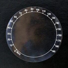 【当店オリジナル】ハーレー専用マイル→キロメートル変換ステッカー シール 全3サイズ