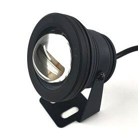 汎用 10W LEDフォグランプ バックランプ デッキライト アルミ黒
