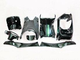 ホンダ ライブディオ(AF34/AF35)2型 インナーカウル 8点セット 深緑色