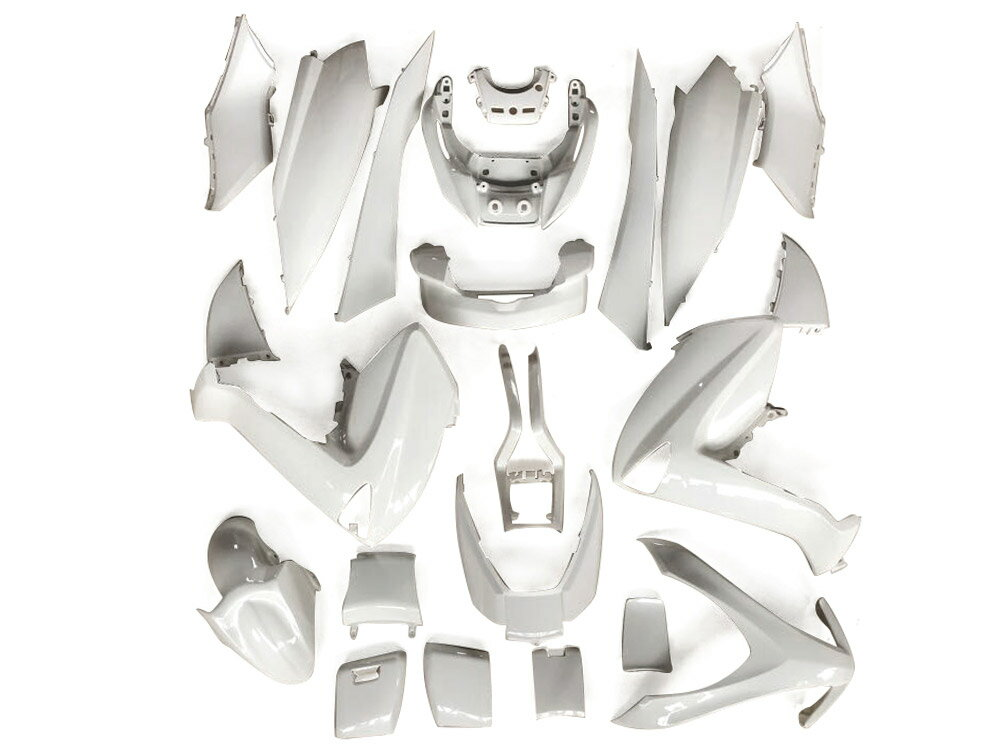 ★★マジェスティ 250 (SG20J 4D9) スクーター 外装 カウル 塗装済み 22点セット パールホワイト NEW MAJESTY250