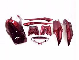 リモコンジョグJOG(SA16J) 外装カウル ワインレッド色 8点Set 外装セット ヤマハ