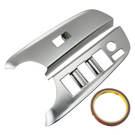シエンタ 170系 ウインドウスイッチカバー インテリアパネル カスタム パーツ シルバーメッキ 内装 パーツ ABS SIENTA