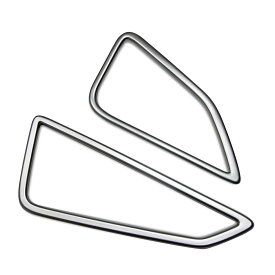 カローラ スポーツ 210系 インテリアパネル 吹き出し口 ガーニッシュ カバー アクセサリー カスタム 内装パーツ 2PCS シルバー