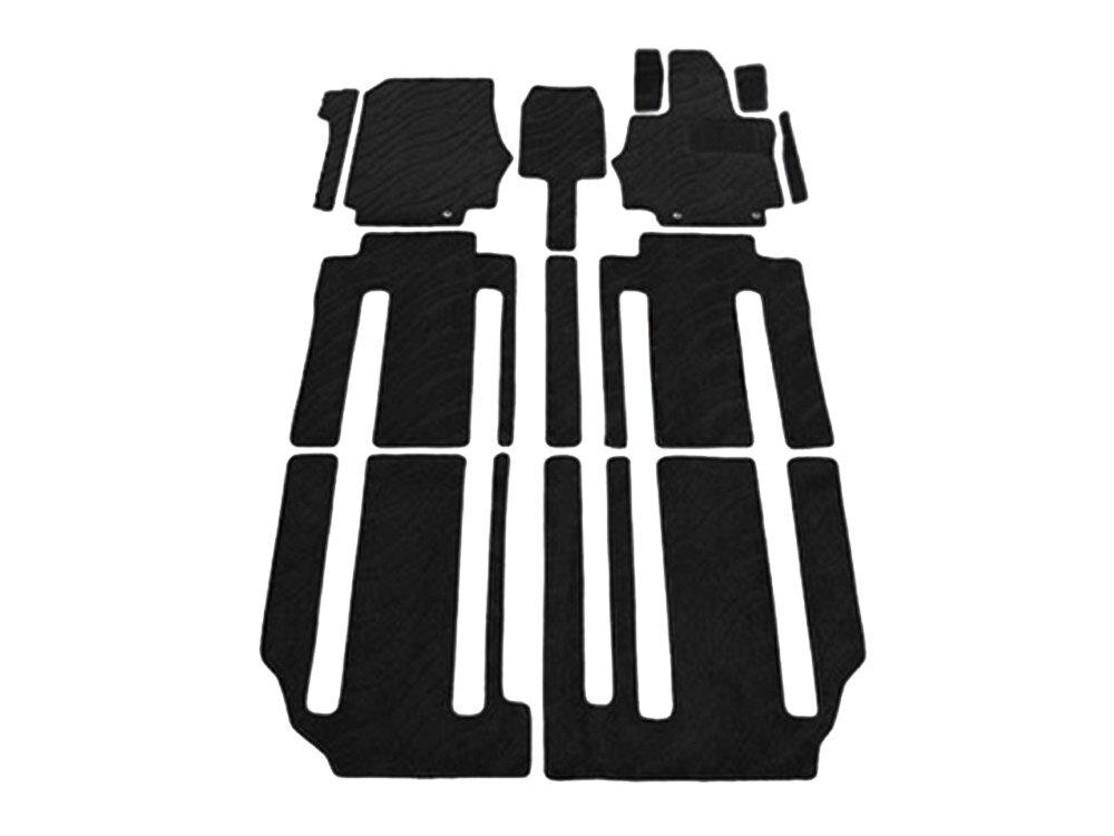 セレナ C27系 カーマット フロアマット セカンドシート仕様:ロングスライド用 内装 12枚セット