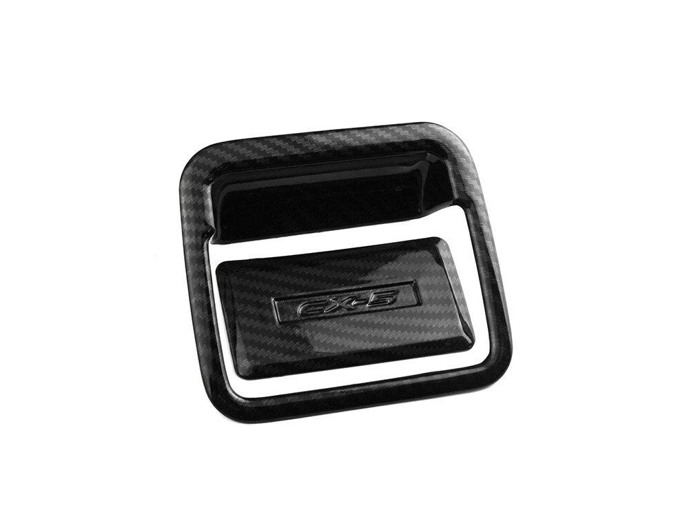 マツダ CX-5 KF系 ダッシュボックスパネル グローブボックスノプカバー 助手席側 アクセサリー カーボン調