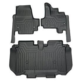 ホンダ N-BOX JF3/4 3Dフロアマット 立体 カーマット 防水 滑り防止 耐汚れ TPO素材 専用設計 3Pセット