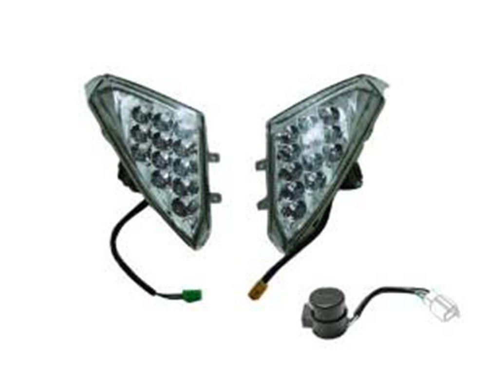 【値下げ】マグザム LED仕様 クリア フロント ウィンカー Set