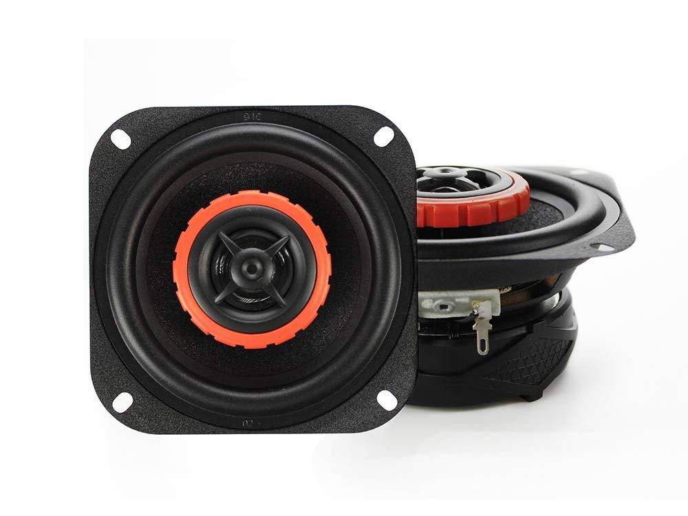 4インチ 2Way 最大180W スピーカー バイク 車用 防水 2個set 高音質 広音域 汎用品