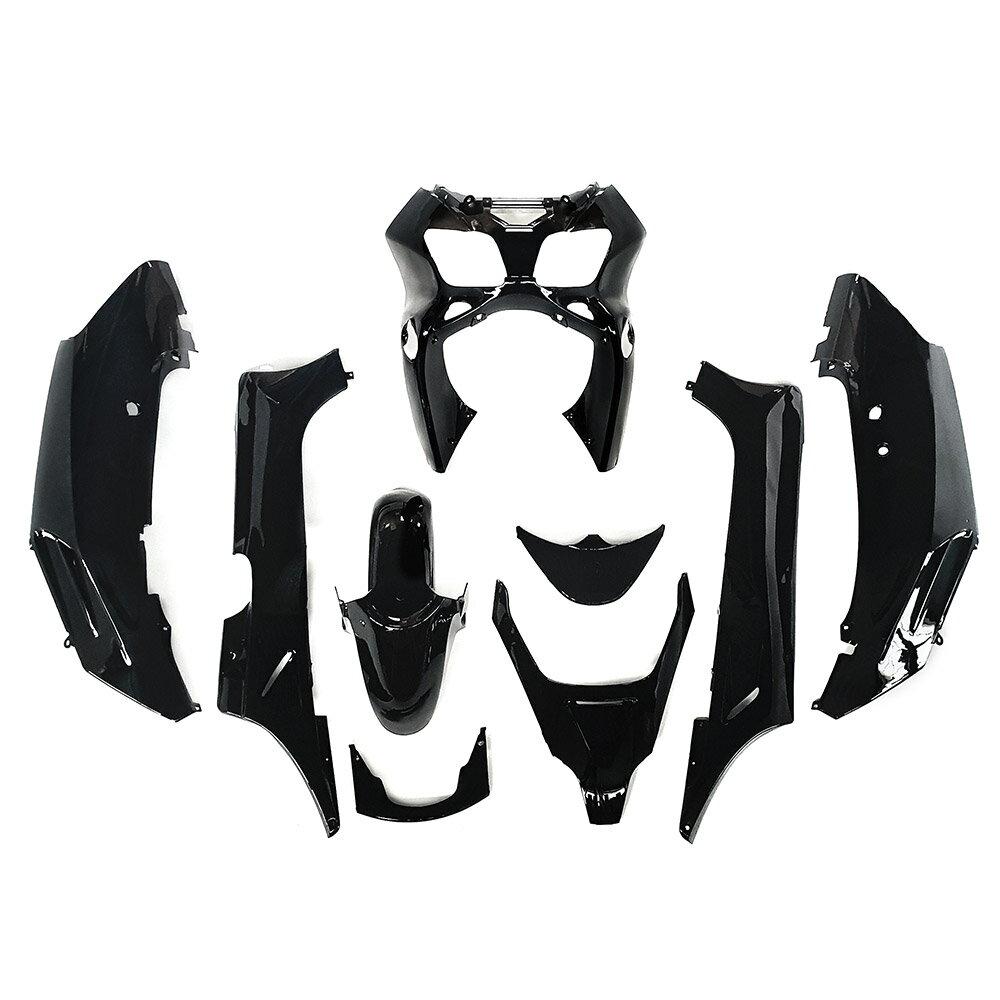 ホンダ FORZA フォルツァ-S/X MF06外装カウル (黒色) 9点 セット 9点セット