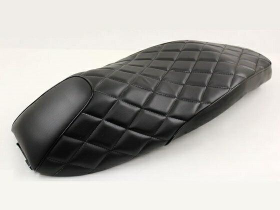 【期間限定】シート ダイヤカット フラット式 黒レザー調 PCX