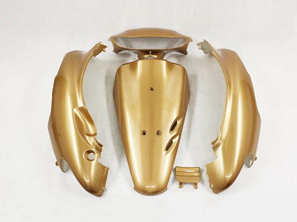 ホンダ DIO ライブディオ(AF34-1型) 外装カウル 外装カバー 金色ゴールド 5点セット