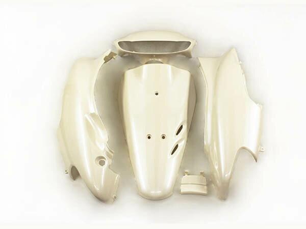 ホンダ DIO ライブディオ(AF34-1型) 外装カウル 外装カバー ベージュ色 5点セット