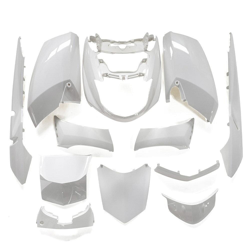 ヤマハ マグザム(SG17J/SG21J) 外装カウル 12点セット 白色