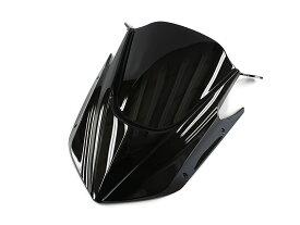 マグザム エアロ仕様 フロント マスク 黒色(ブラック) ヤマハ ABS樹脂 CP250 SG17J SG21J