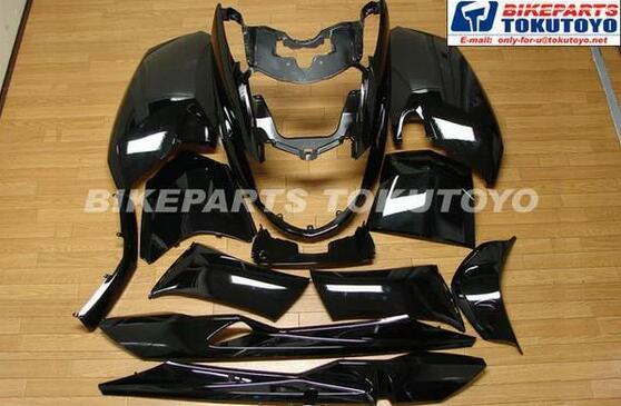 【期間限定】ヤマハ マグザム(SG17J/SG21J) 外装カウル 12点セット 黒色ブラック