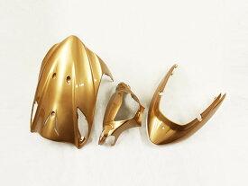 スズキ アドレスV125/G(CF46A/4EA) 外装カウル 3点セット 金色ゴールド