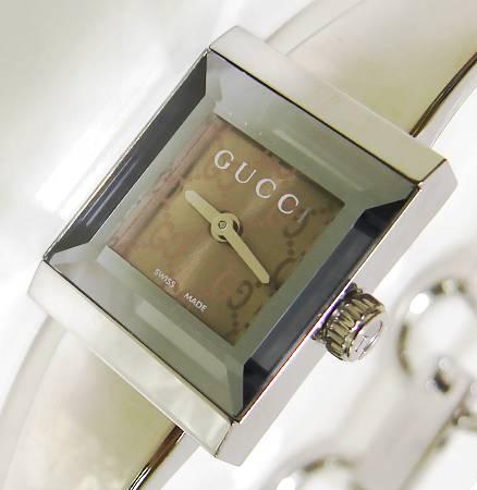 【菊地質店】【中古】グッチ GUCCI YA128510 レディース 腕時計 クォーツ【送料無料】【質屋出店】【smtb-TK】<12-7>