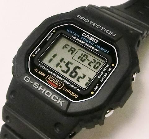 【菊地質店】【中古】カシオ CASIO G-SHOCK DW-5600E 腕時計 クォーツ【送料無料】【質屋出店】【smtb-TK】<12-15>