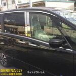 日産セレナC27/ハイウェイスター2016年6月サイドウェザーストリップモールウィンドウトリムウィンドウモールガーニッシュステンレス製エアロパーツカスタムパーツアクセサリーフルセットドレスアップ外装品14pcskjx2242