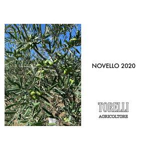 【一年に一度!3本セット!】トレリ エキストラバージン オリーブオイル ノヴェッロ 2020 NOVELLO 最高級 100%オーガニック(有機栽培) 250ml x 3(本) コールドプレス/イタリア産/ノベッロ