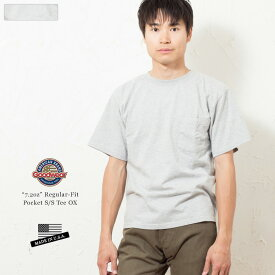 GOODWEAR グッドウェア レギュラーフィット ポケット Tシャツ 米国製/アメリカ製/ビッグT/ポケT 【メンズファッジ7月号掲載】