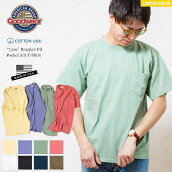 グッドウェアtシャツ20SS限定カラーレギュラーフィットクルーネックポケットTEEGOODWEARUSAT-SHIRT米国製/ポケT厚手/無地/ビッグTMLXL