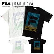 エヴァンゲリオンTシャツFILAHERITAGExRADIOEVAフィラエヴァンゲリオン限定コラボプリント半袖Tシャツ/T-SHIRTSHERITAGEメンズレディース