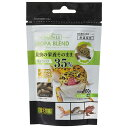 【メール便なら4袋まで送料215円】 GEX レオパブレンドフード 60g 昆虫の栄養そのまま!
