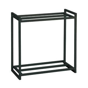 GEX ネジ無簡単組立 水槽用組立2段台60 ブラック 60cm水槽用 水槽台