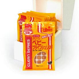 キョーリン クリーンベビーブラインシュリンプ50g 12枚入(1箱)冷凍エサ 380円/枚 (60/80)