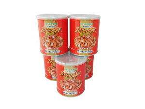【NEW!】富城物産 カンシャ 乾蝦 80g缶 5個セット 天然手長エビ 850円/個 (80)