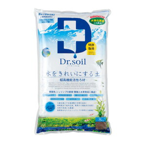 【送料別】コトブキ ドクターソイル 8kg (100)