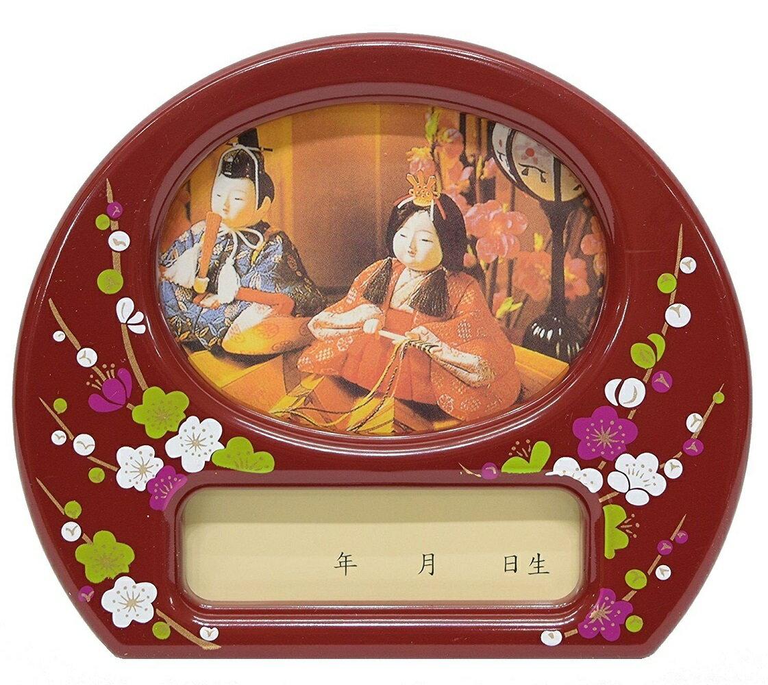 雛祭り用オルゴール付写真立 ひな人形 雛人形 ひな祭り