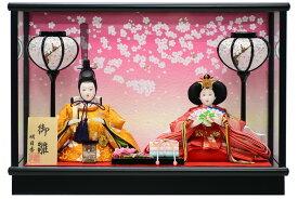 雛人形 コンパクトケース飾り 若草C 親王飾り ひな人形【バリエーション豊富】