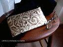 ノベルティ&レザークリームプレゼント ORTICO オルティコ 長財布 薄い財布 花柄フラワー型押し エナメル レザー L字ファスナー OR-002…