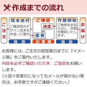 ガラス&ステンエッチング表札【作成フロー】