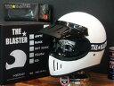 ダムトラックス The BLASTER ブラスターフルフェイスヘルメット フリーサイズ ホワイト (バイザー&専用ブラスターゴーグル付) 送料無料