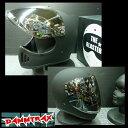 ダムトラックス The Blaster ブラスターフルフェイスヘルメット マットブラック (バイザー&フラッシュミラーシールド付) 送料無料