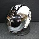 バブルミラーシールド付 ジャムテックジャパン 72JAM ジェットヘルメット JJ-02 F.B.I(ホワイト) フリーサイズ 送料無料