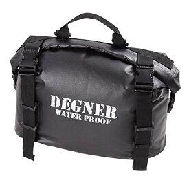 DEGNER(デグナー) NB-148 防水サイドバッグ ブラック 18L (防水サドルバッグ) 送料無料