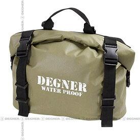 DEGNER(デグナー) NB-148 防水サイドバッグ カーキ 18L (防水サドルバッグ) 送料無料