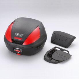 (ヤマハ純正) ワイズギア GIVI リアボックス E37 バックレスト付き 未塗装 ブラック YAMAHA Q5KYSK045001 あす楽対応 送料無料